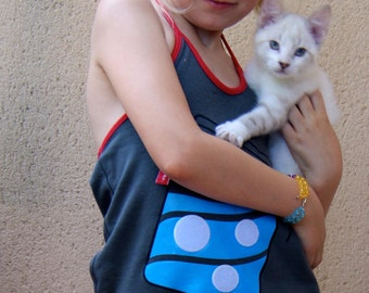 Halter Top with fish toy
