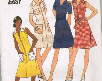 OOP Vintage Butterick 3559 Half Size Dress Size 20 1/2