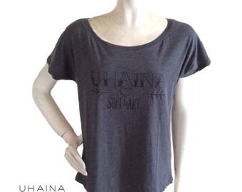 Loose fit Uhaina Surf & Art t-shirt
