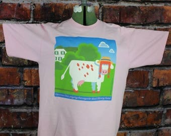 Anne of Green Gables Cow Vintage 1990s T-Shirt