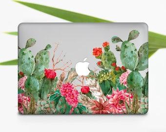 Cactus Macbook Case Macbook Air Case Macbook Pro Case Flower Macbook Pro Retina  Case Macbook