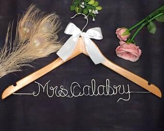 Wedding Hanger,Bridal Hanger, Dress Hanger Wire , Personalized Custom Wedding Hanger, Personalized Hanger, Bridesmaid Dress Hanger