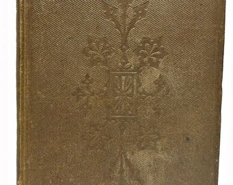 1861 Is It Possible to Make the Best of Both Worlds? A Book for Young Men By T. BINNEY Christian Scarce!