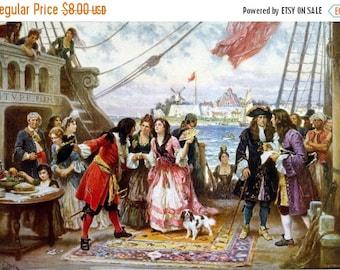 Captain Kidd Cross Stitch Pattern Pdf pirate cross stitch pirate pattern - 413 x 286 stitches - INSTANT Download - B658