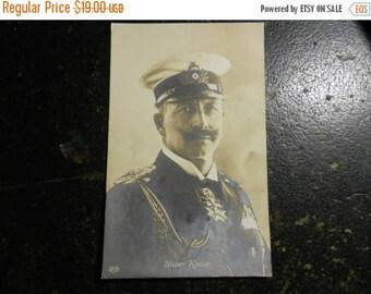 Summer Sale Vintage WW1 Wilhelm II, German Emperor Postcard