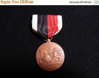 Inventory Sale Vintage US Navy Occupation Service Medal
