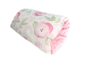 Baby Bumpee Slip On Nursing Pillow - Rose Petal