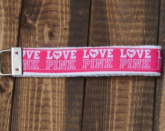"""Hot Pink Love Pink VS Brand Fashion Logo 