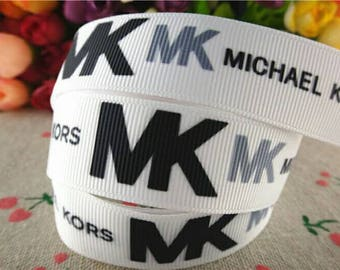 MK Designers ribbon 7/8 inch *sold by the yard