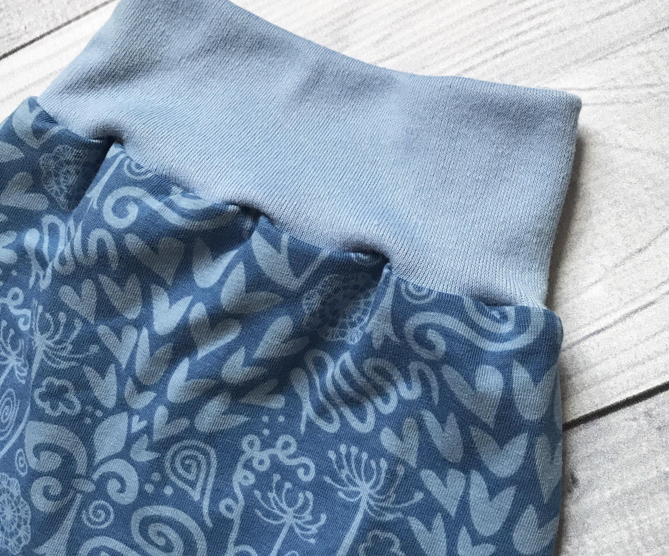 SALE Baby Flower Shorts Blue Baby Shorts Baby Summer Shorts