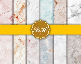 Marble Digital Paper, Marble Background, Digital Marble Pattern, Marble Texture, Stone Texture Digital Paper, Real Stone Photo Backdrops