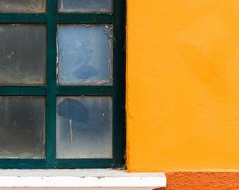 Venice Italy Photography | A Window in Burano | Italy Photography | Italian architecture | European Wall Art | Venice | Metal Print