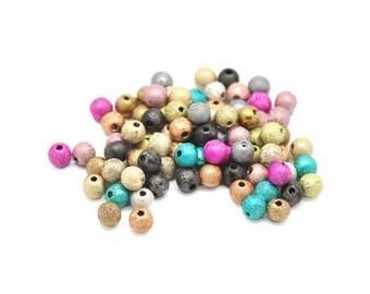 250 Stardust beads 6mm