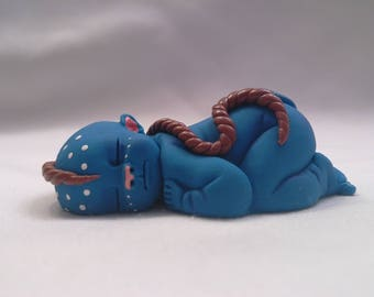 """Polymer Clay Babies """"Inspired by the Movie Avatar""""  BABY SIZE 2.5"""" Gift, Collectible, Keepsake, Fairy Garden, Home Shelf Display, Decor"""