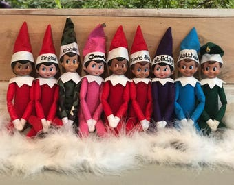 Customized Elf on the Shelf  .  read description for shipping times