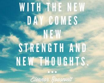 Quote magnet- Eleanor Roosevelt