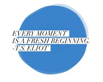Quote magnet- T.S. Eliot