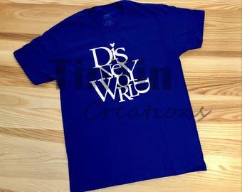 Disney shirt; Walt Disney World Tshirt; Disney Tshirt