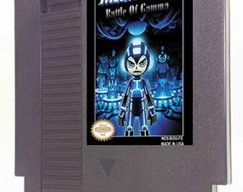 Megaman 3 Battle of Gamma