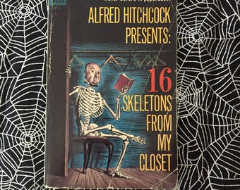 ALFRED HITCHCOCK PRESENTS: 16 Skeletons From My Closet (Paperback Anthology)