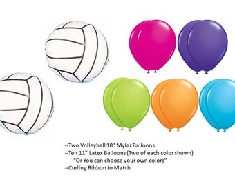 Volleyball Balloons