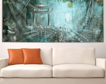 Portal Road Tapestry by Asirios