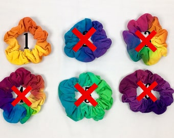 Extra Large Tie Dye Hair Scrunchies