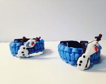 Olaf Paracord Bracelets