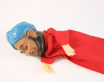 Vintage Puppet - Indian Man Hand Puppet