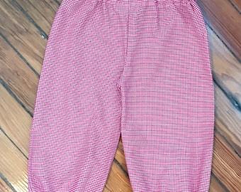 Bubble Gingham Pants