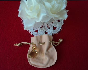 French vintage Van Cleef Miss Arpels perfume pendant (06092)