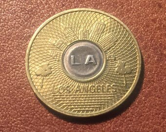 Vintage MTA Good for One Base fare Bus Token Xlnt