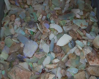 Andamooka crystal opal bulk unsorted parcel -400g parcel