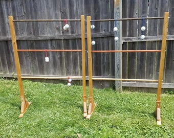 Ladder Ball -- All handmade -- All wood!!!
