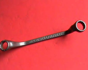 Vintage 1930s Model A Ford USA script logo boxed end wrench