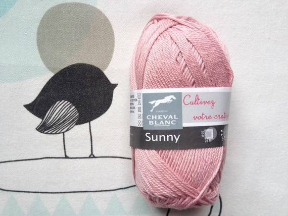 WOOL SUNNY powder - white horse