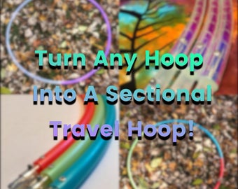 Add On // Turn Any Hoop Into A Sectional Travel Hoop