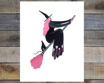 Liz Long Creature Comfort Print #7 8-10in Giclée Print