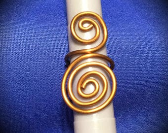 Egyptian Style Copper Ring