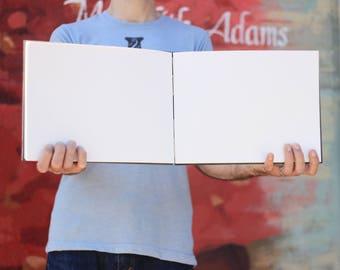 Huge Sketchbook· Landscape Sketchbook· Large Sketchbook· Wide Sketchbook· Big Guest Book· Large Watercolor Sketchbook· Custom Sketchbook· A4