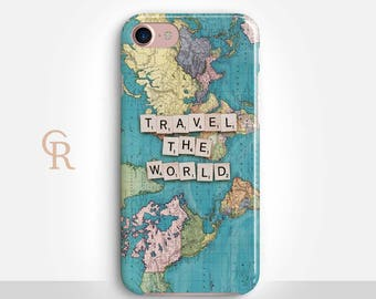 Travel Phone Case For iPhone 8 iPhone 8 Plus - iPhone X - iPhone 7 Plus - iPhone 6 - iPhone 6S - iPhone SE - Samsung S8 - iPhone 5