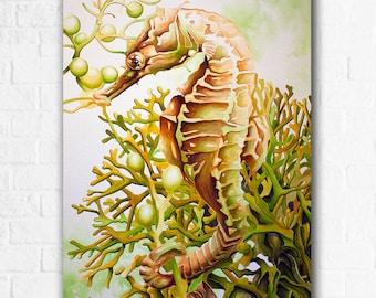 """Seabiscuit - Original Watercolor 18"""" x 24"""""""
