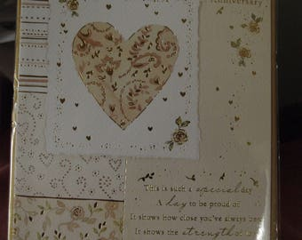 On your Golden Wedding Anniversary Card