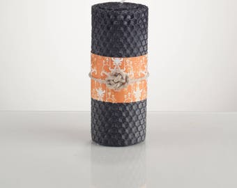 Pillar Rolled Beeswax Candle