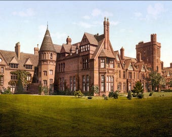 Poster, Many Sizes Available; Girton College, Cambridge, England, 1890S