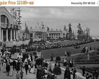 20% Off Sale - Poster, Many Sizes Available; Alaska Yukon Pacific Exposition, Seattle 1909