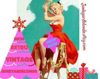 CHRISTMAS SALE,Kitsch,30% Off Shop,Mom Boss, Small Biz,Shop Small,vintage,Sale,gifts,retro,kitsch,mcm,christmas,cybersale,Black Friday