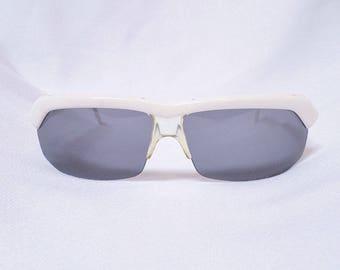 50% OFF!!  80s Vintage Claude Montana x Alain mikli white sunglasses