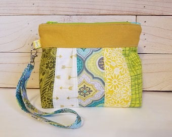 Wristlet Clutch Purse // Multi Color Clutch