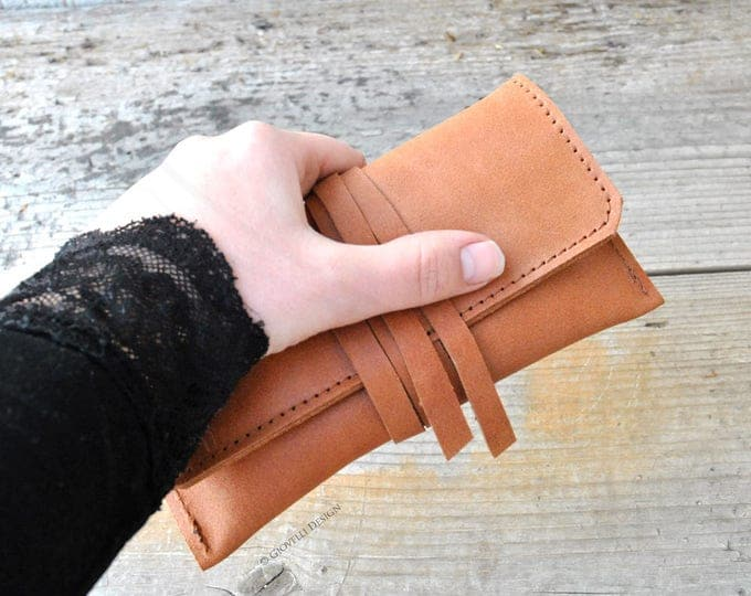 Leather Tobacco Pouch, Tobacco Holder
